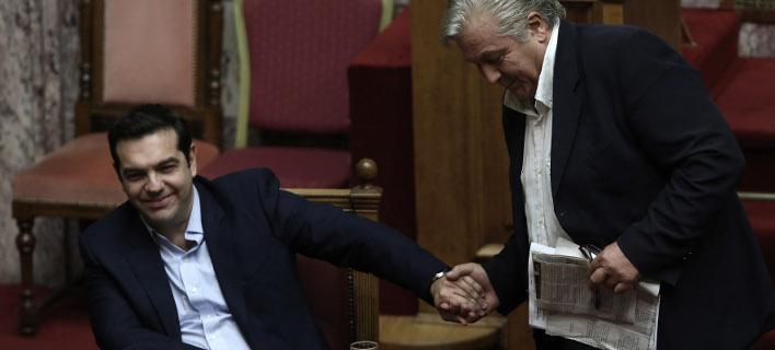Τσίπρας-Παπαχριστόπουλος /Φωτογραφία Αρχείου: Intime News