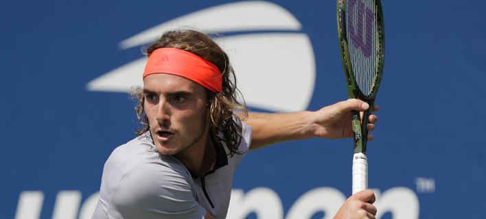 Ο Ελληνας τενίστας, Στέφανος Τσιτσιπάς/ Φωτογραφία: AP