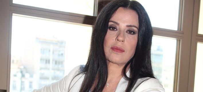 Η ηθοποιός Μαρία Τζομπανάκη, Φωτογραφία: NDP photo agency