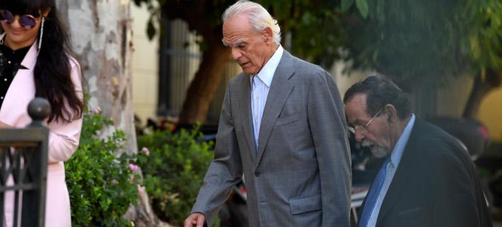 Ο Ακης Τσοχατζόπουλος στην Ευελπίδων /Φωτογραφία: Intime News-ΒΑΡΑΚΛΑΣ ΜΙΧΑΛΗΣ