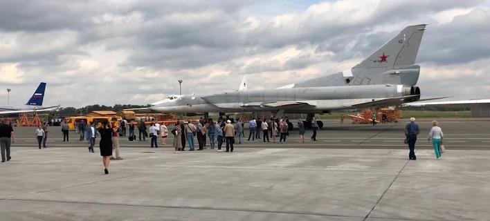 Το υπερηχητικό βομβαρδιστικό Tu-22M3M της Ρωσικής Πολεμικής Αεροπορίας (Φωτογραφία: YouTube)