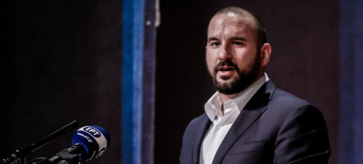 Ο κυβερνητικός εκπρόσωπος και υπουργός Επικρατείας Δημήτρης Τζανακόπουλος- φωτογραφία eurokinissi