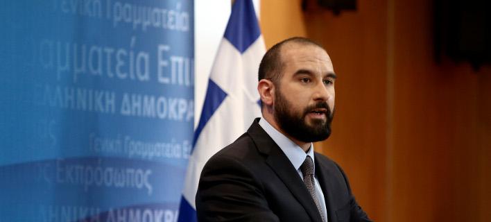 Ο κυβερνητικός εκπρόσωπος Δημ. Τζανακόπουλος -Φωτογραφία αρχείου: Intimenews/ΤΖΑΜΑΡΟΣ ΠΑΝΑΓΙΩΤΗΣ