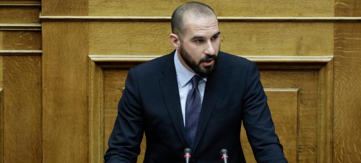 Δημήτρης Τζανακόπουλος, Φωτογραφία: Eurokinissi