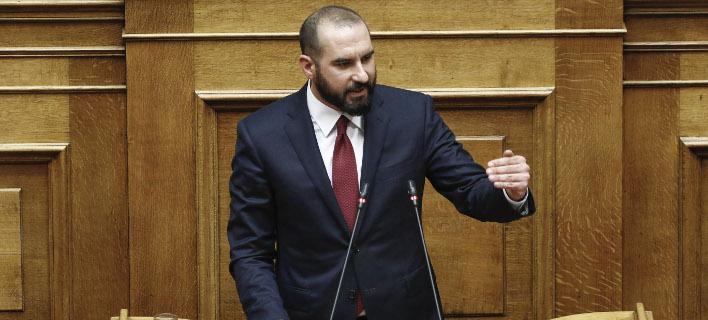Ο Δημήτρης Τζανακόπουλος (Φωτογραφία: EUROKINISSI/ΚΟΝΤΑΡΙΝΗΣ ΓΙΩΡΓΟΣ)
