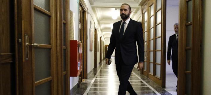 Ο Δημήτρης Τζανακόπουλος (Φωτογραφία: EUROKINISSI/ΓΙΩΡΓΟΣ ΚΟΝΤΑΡΙΝΗΣ)