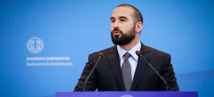 Ο Δημήτρης Τζανακόπουλος (Φωτογραφία: EUROKINISSI/ΣΤΕΛΙΟΣ ΜΙΣΙΝΑΣ)