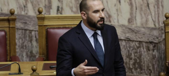 Ο Δημήτρης Τζανακόπουλος (Φωτογραφία: EUROKINISSI/ ΓΙΑΝΝΗΣ ΠΑΝΑΓΟΠΟΥΛΟΣ)