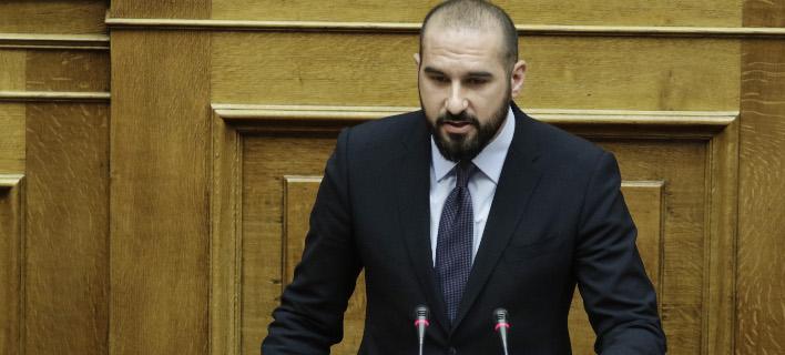 Ο Δημήτρης Τζανακόπουλος (Φωτογραφία: EUROKINISSI/ΓΙΑΝΝΗΣ ΠΑΝΑΓΟΠΟΥΛΟΣ)