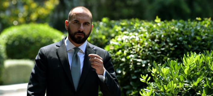 Ο κυβερνητικός εκπρόσωπος, Δημήτρης Τζανακόπουλος/Φωτογραφία: Eurokinissi