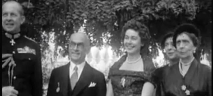 Βίντεο: Δείτε την υποδοχή του Τζελάλ Μπαγιάρ από τον βασιλιά Παύλο, το 1952