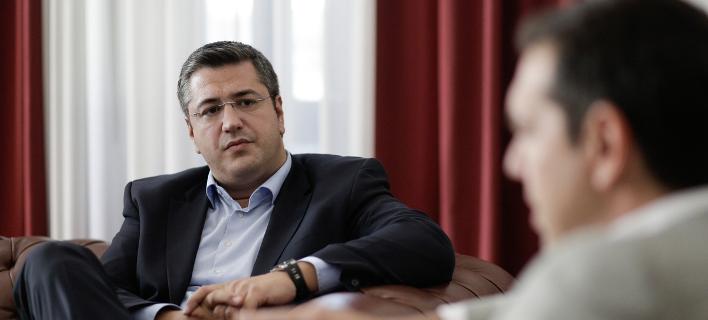 Ο περιφερειάρχης Κ. Μακεδονίας, Απ.Τζιτζικώστας σε παλαιότερη συνάντησή του με τον Αλέξη Τσίπρα-Φωτογραφία:  Konstantinos Tsakalidis / SOOC