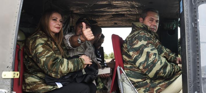 Ελένη Τζούλη και Πάνος Καμμένος/ Φωτογραφία: ΧΑΛΚΙΟΠΟΥΛΟΣ ΝΙΚΟΣ/IntimeNews