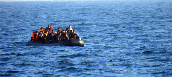 Διάσωση μεταναστών και προσφύγων στη Μεσόγειο/Φωτογραφία: Eurokinissi