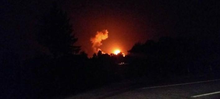 Πυρκαγιά στην Ουκρανία