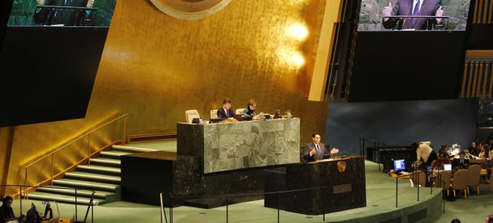 Διπλωματική ήττα για τον Τραμπ στον ΟΗΕ (Φωτογραφία: AP/ Mark Lennihan)