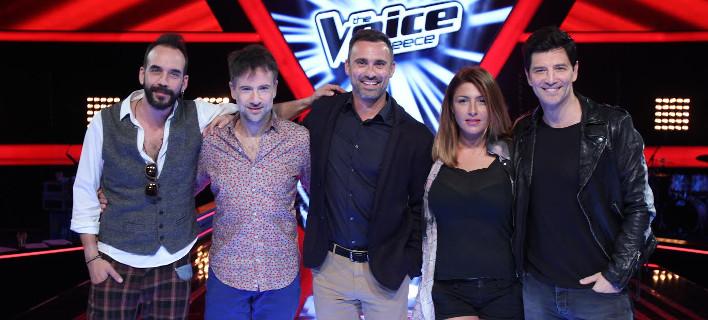 Το νέο Voice - Η κριτική επιτροπή με Ρουβά και ο Καπουτζίδης