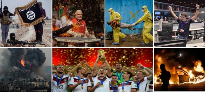 Τραγωδίες, «επαναστάσεις», δυστυχήματα που άλλαξαν τον κόσμο -Τα σημαντικότερα γεγονότα του 2014 μέσα από 26 φωτογραφίες [εικόνες]