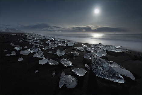 Μαύρη αμμουδιά στην Ισλανδία