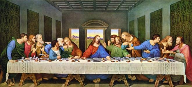 Αποτέλεσμα εικόνας για μυστικος δειπνος da vinci