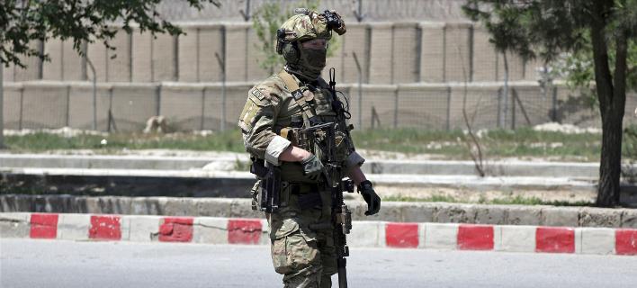 Αμερικανός στρατιώτης (Φωτογραφία: AP Photo/Rahmat Gul)