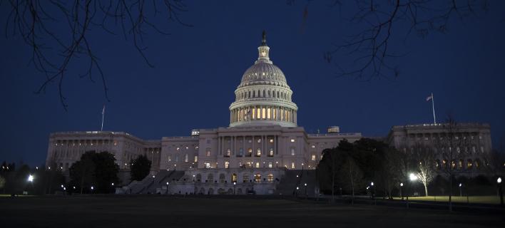 Σε αναστολή λειτουργίας το ομοσπονδιακό κράτος (Φωτογραφία: AP/  J. Scott Applewhite)