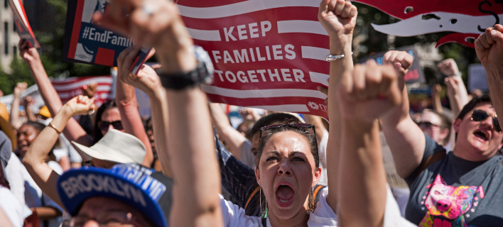 Στους δρόμους οι Αμερικανοί/Φωτογραφία: AP