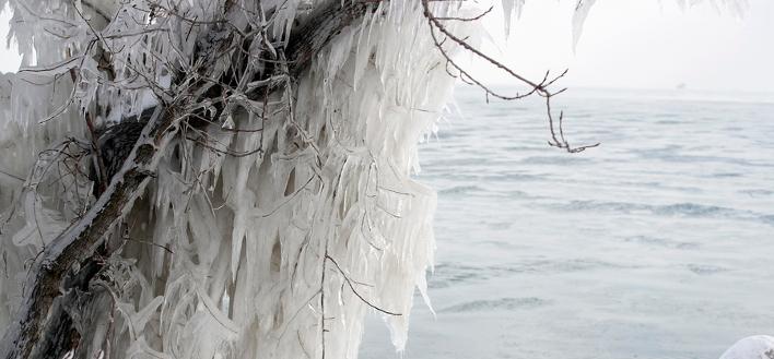 Πολικές θερμοκρασίες στις ΗΠΑ -Φωτογραφία: EPA/KAMIL KRZACZYNSKI