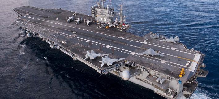 Εξελίξεις: Οι ΗΠΑ στέλνουν κι άλλο αεροπλανοφόρο στη Μεσόγειο -Αντιτορπιλικά και καταδρομικό