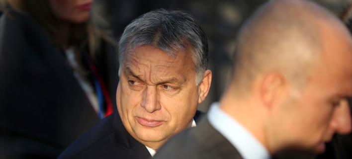 Ο εθνολαϊκιστής πρωθυπουργός της Ουγγαρίας, Βίκτορ Ορμπαν (Φωτογραφία: AP/Francisco Seco)