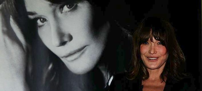 Εφτασε στην Αθήνα η Κάρλα Μπρούνι -Θα δώσει 2 συναυλίες στην Αθήνα [εικόνα & βίντεο]