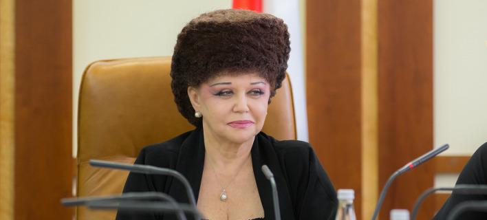 Η Ρωσίδα βουλευτής Βαλεντίνα Πετρένκο. Φωτογραφία: wikipedia