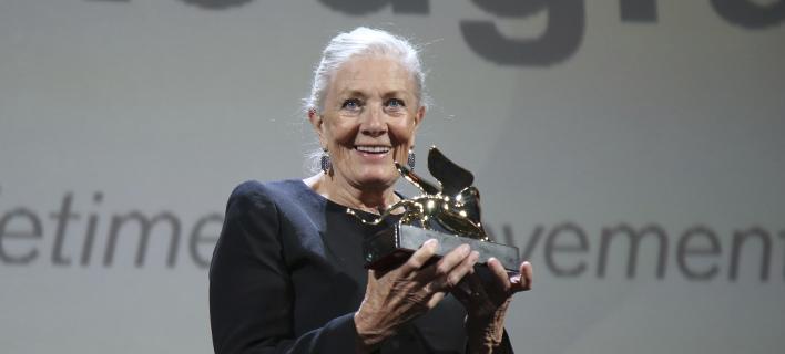 H ηθοποιός Βανέσα Ρέντγκρειβ /Φωτογραφία: AP