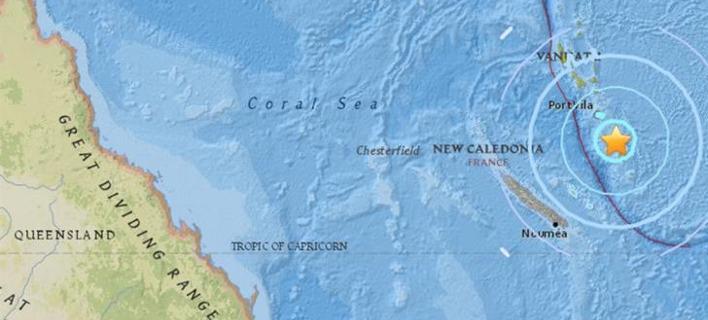 Ισχυρός σεισμός 6,7 βαθμών στα νησιά Βανουάτου