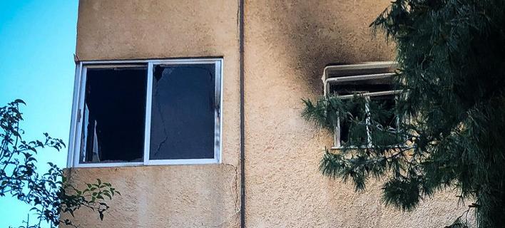το διαμέρισμα στη Βάρκιζα/Φωτογραφία: Eurokinissi