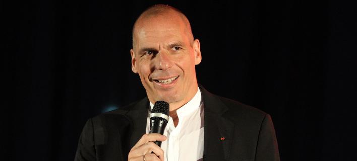 Ο Γιάνης Βαρουφάκης. Φωτογραφία: Eurokinissi