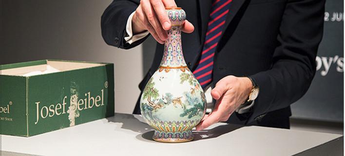 Κατασκευάστηκε για τον αυτοκράτορα Τσιανλόνγκ, φωτογραφίες: sothebys.com