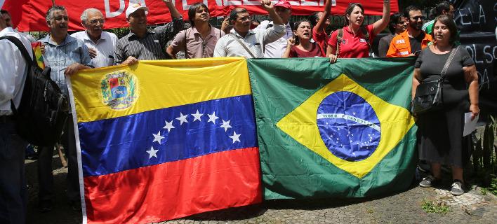 Βενεζουέλα: Η Βραζιλία έχει έτοιμους 200 τόνους βοήθειας αλλά τα φορτηγά δεν μπορούν να περάσουν τα σύνορα