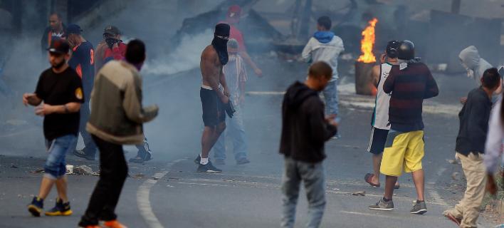 Εκτός ελέγχου η κατάσταση στη Βενεζουέλα(Φωτογραφία: AP Photo/Fernando Llano)