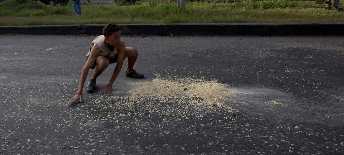 Λιμοκτονούν οι κάτοικοι της Βενεζουέλας. Φωτογραφία: AP
