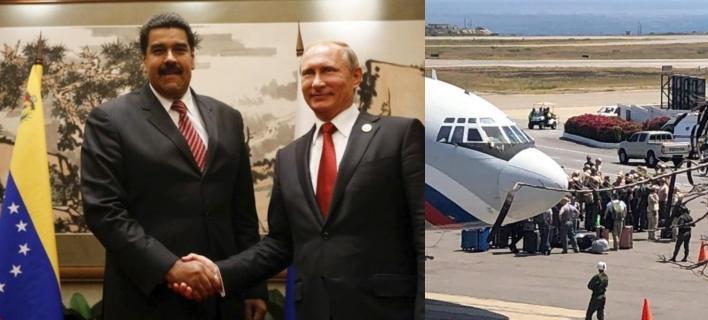 Εξελίξεις στη Βενεζουέλα: Ρωσικά αεροσκάφη μετέφεραν στρατεύματα στο Καράκας [εικόνες & βίντεο]