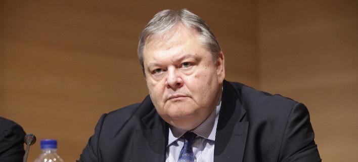 Ο πρώην πρόεδρος του ΠΑΣΟΚ, Ευάγγελος Βενιζέλος/Φωτογραφία: Eurokinissi