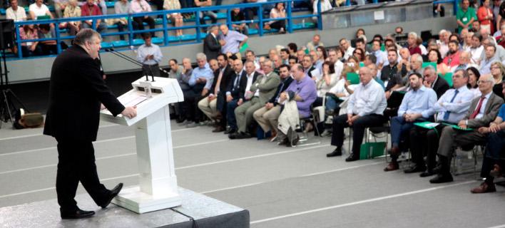 Δείτε live την ομιλία Βενιζέλου στο συνέδριο του ΠΑΣΟΚ