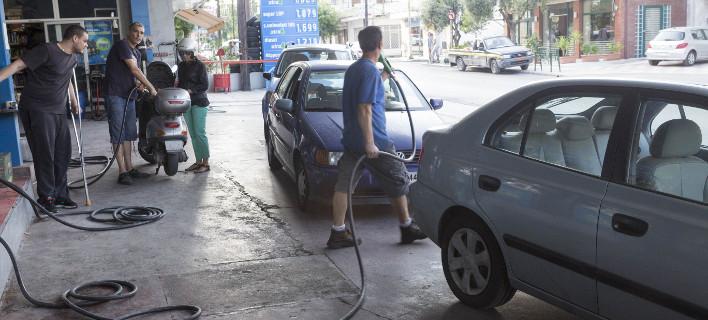 Πρατήριο καυσίμων/Φωτογραφία: Eurokinissi