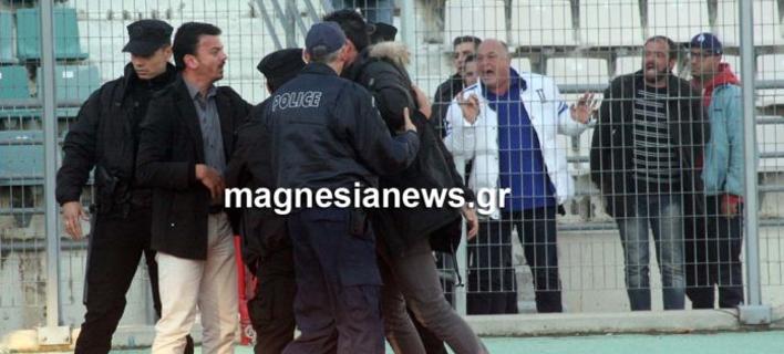 Συνελήφθη ο Αχιλλέας Μπέος -Εβρισε χυδαία τον πρόεδρο του Ολυμπιακού Βόλου