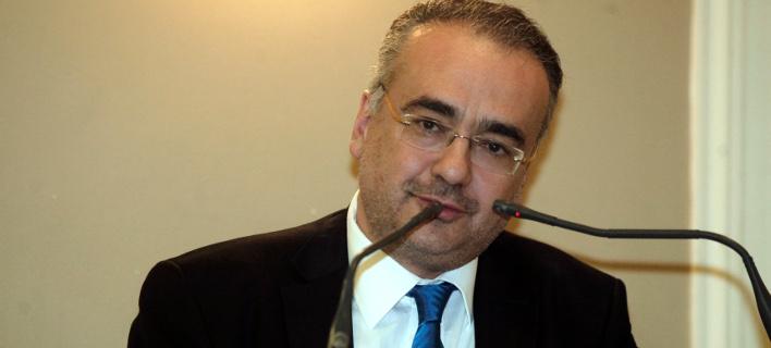 Φωτογραφία: Ο πρόεδρος του ΔΣ, Δημήτρης Βερβεσός/Eurokinissi