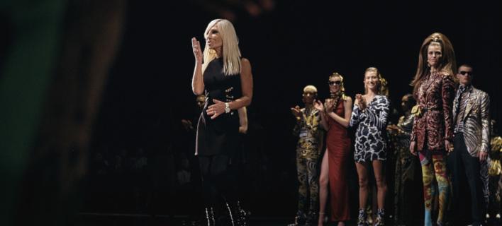 5cbc312cf830 Η Donatella Versace στη Νέα Υόρκη  Φωτογραφία  AP Andres Kudacki