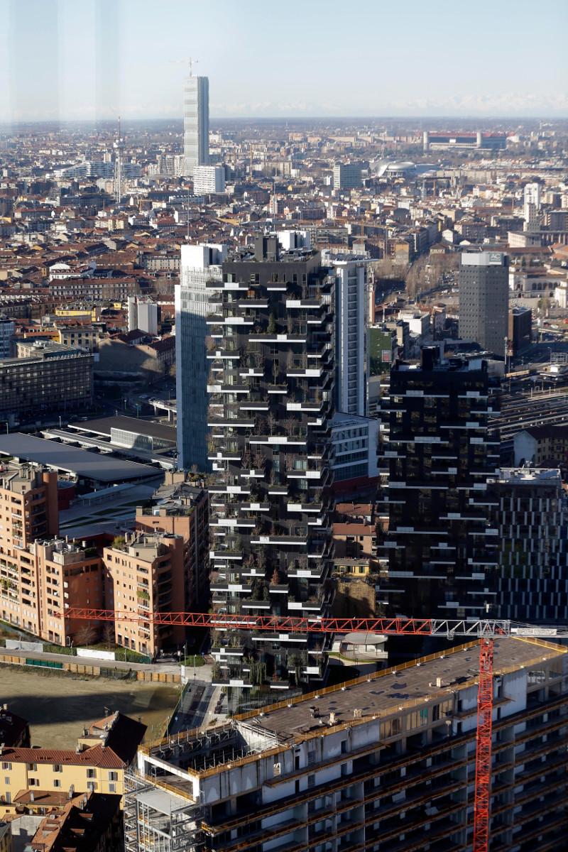 Vertival Forest: Πύργοι-δάση στο Μιλάνο!Καταπράσινα κτίρια με 15.000 φυτά