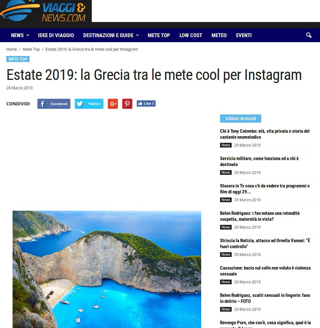 Ιταλικό τουριστικό site αποθεώνει την Ελλάδα για τον πιο αναπάντεχο λόγο [εικόνες] | iefimerida.gr 2