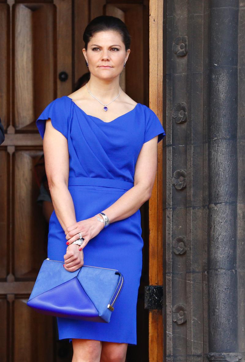 Η πριγκίπισσα της Σουηδίας Βικτόρια και διάδοχος του θρόνου σε πρόσφατη δημόσια εμφάνιση